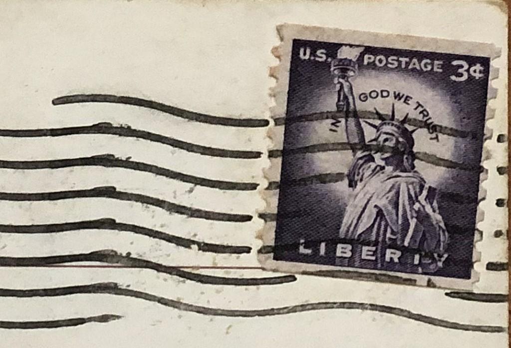 sugarbowl postcard front stamp